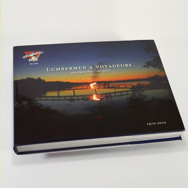 YMCA Camp PineCrest Anniversary Book