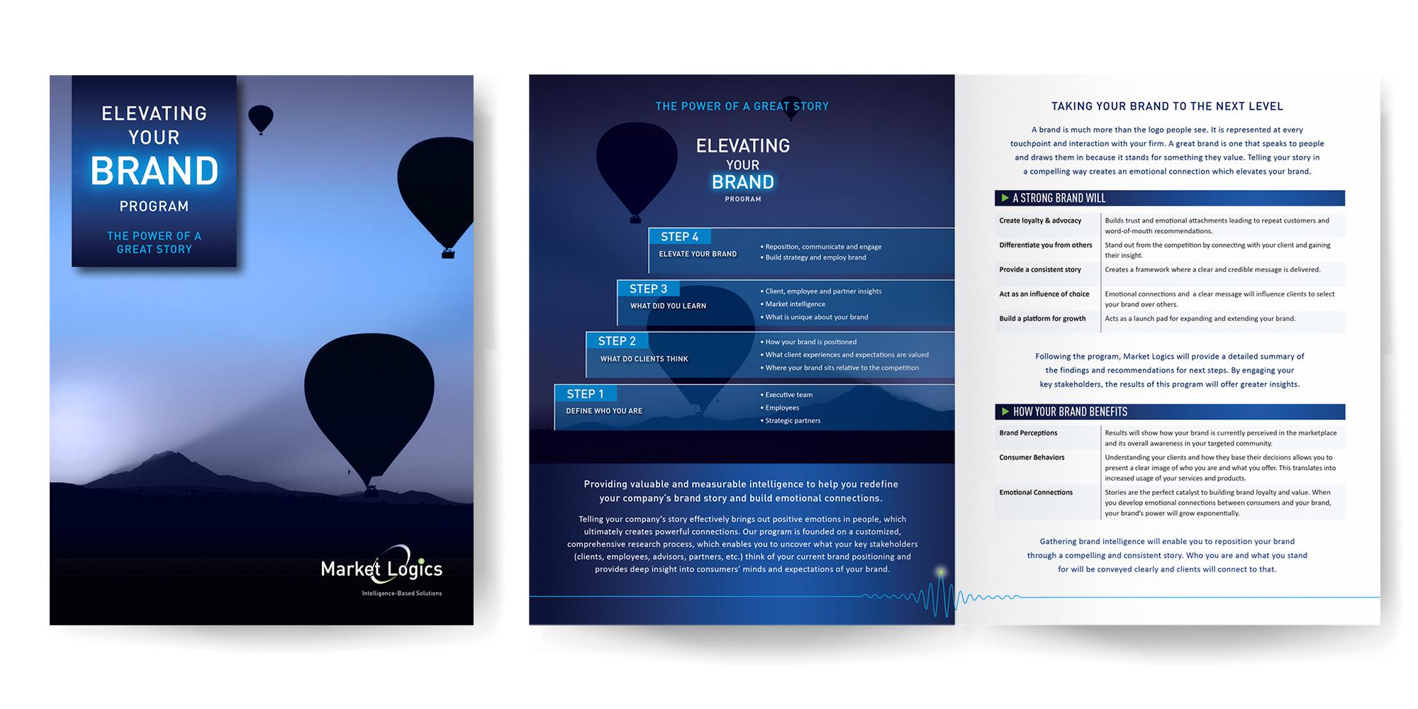 Market Logics Elevation your Brand Brochure