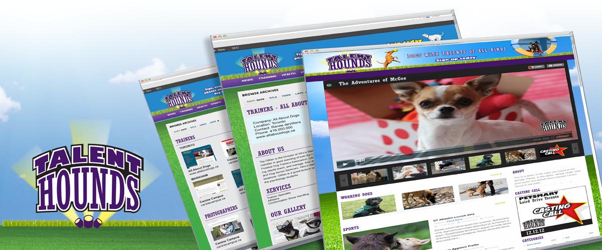 Talent Hounds Web Site