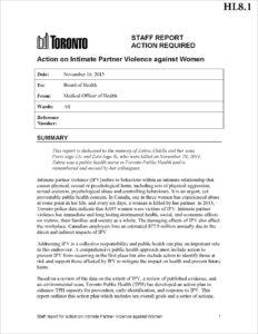 IPV Reoprt - Orginal Staff Report