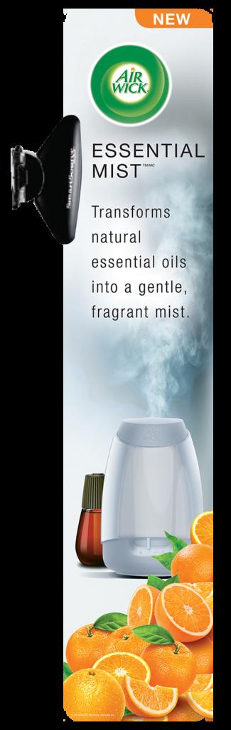 Air Wick At Shelf Ad