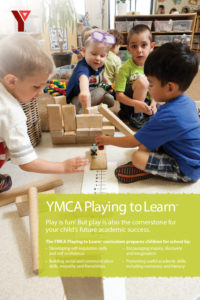 YMCA Playing to Learn Poster